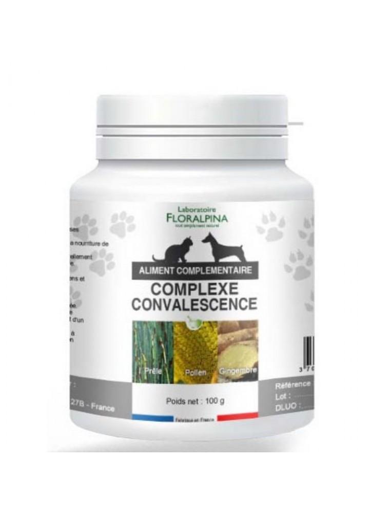 Complexe Convalescence Fatigue - Vitalité Chiens et Chats 100g - Floralpina