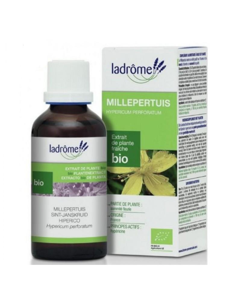 Millepertuis Bio - Déprime et Sommeil Teinture-mère Hypericum perforatum 100 ml - Ladrôme
