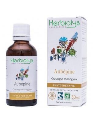 Aubépine Bio - Stress et Coeur Teinture-mère Crataegus monogyna 50 ml - Herbiolys