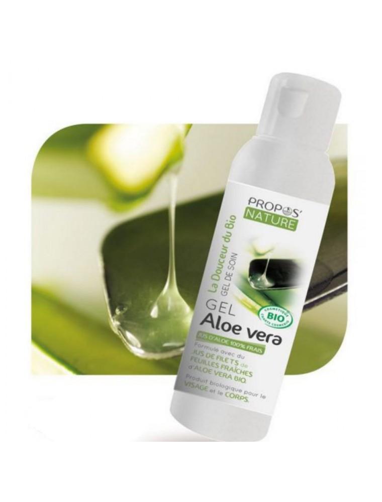 Gel d'Aloe vera Bio - Visage et Corps 200 ml - Propos Nature