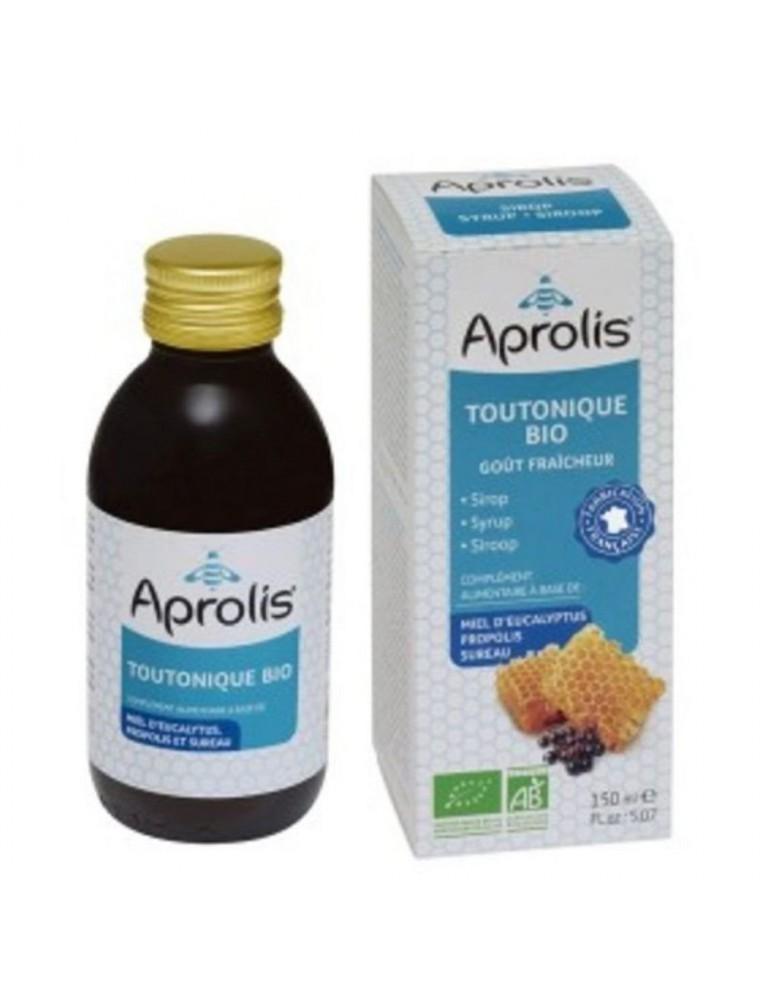 Toutonique Sirop Bio - Miel Propolis et Sureau 150 ml - Aprolis