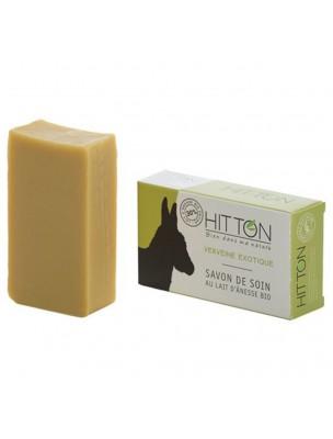 Savon au Lait d'ânesse Bio - Verveine Exotique 100 grammes - Hitton