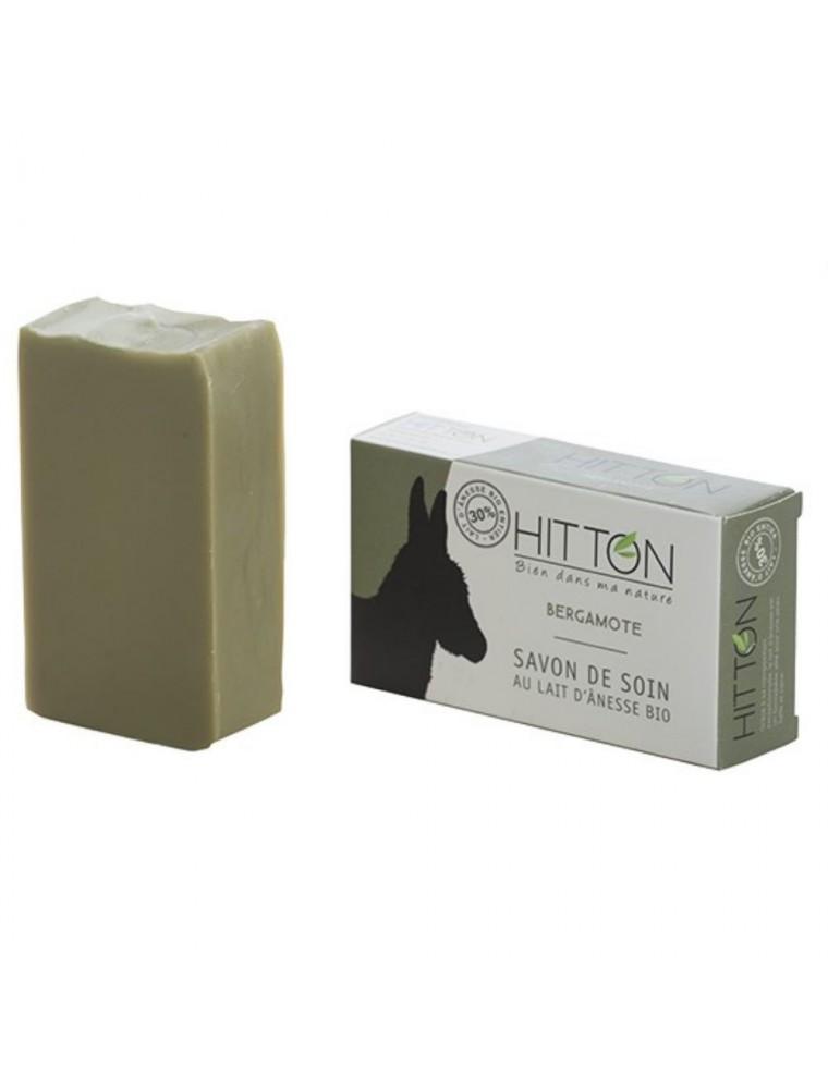 Savon au Lait d'ânesse Bio - Bergamote 100 grammes - Hitton