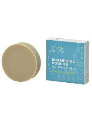 Shampooing Douche au Lait d'ânesse Bio - Tonique et Epicé 100 grammes - Hitton