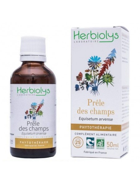 Prêle des Champs Bio - Articulations et Cheveux Teinture-mère Equisetum arvense 50 ml - Herbiolys