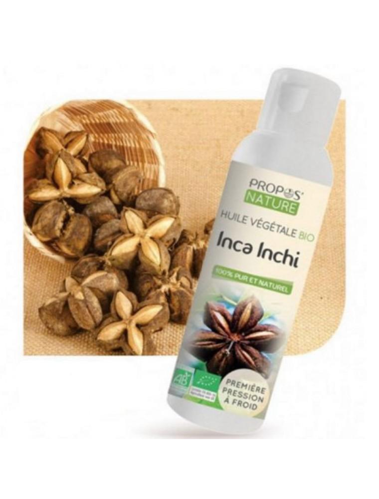 Inca Inchi Bio - Huile végétale de Plukenetia volubilis 100 ml - Propos Nature