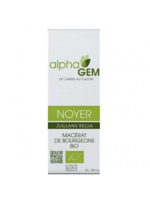 Noyer Macérat de bourgeons Bio - Juglans regia 50 ml - Alphagem