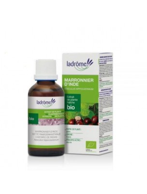 Marronnier d'Inde Bio - Circulation Teinture-mère Aesculus hippocastanum 100 ml - Ladrôme