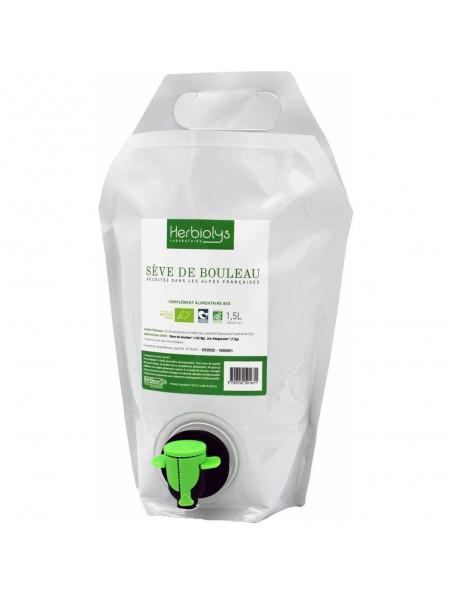 Sève de Bouleau Bio - Cure Minceur et Détox 1.5 litres - Herbiolys