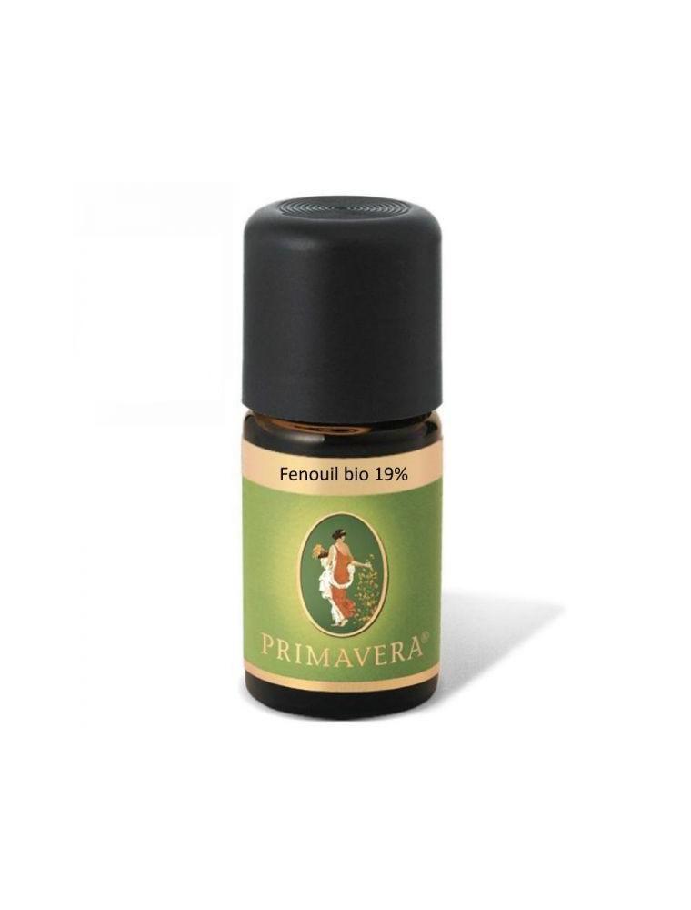 Fenouil Bio - Huile essentielle 19% Foeniculum vulgare 5 ml - Primavera