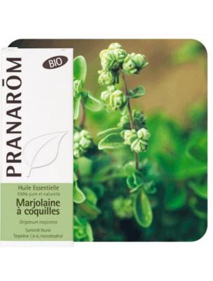 Marjolaine à coquilles Bio - Huile essentielle Origanum majorana 5 ml - Pranarôm