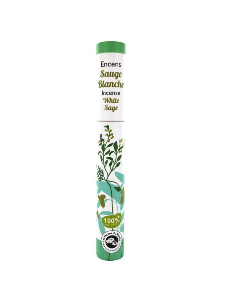 Sauge - Encens végétal 30 bâtonnets - Les Encens du Monde