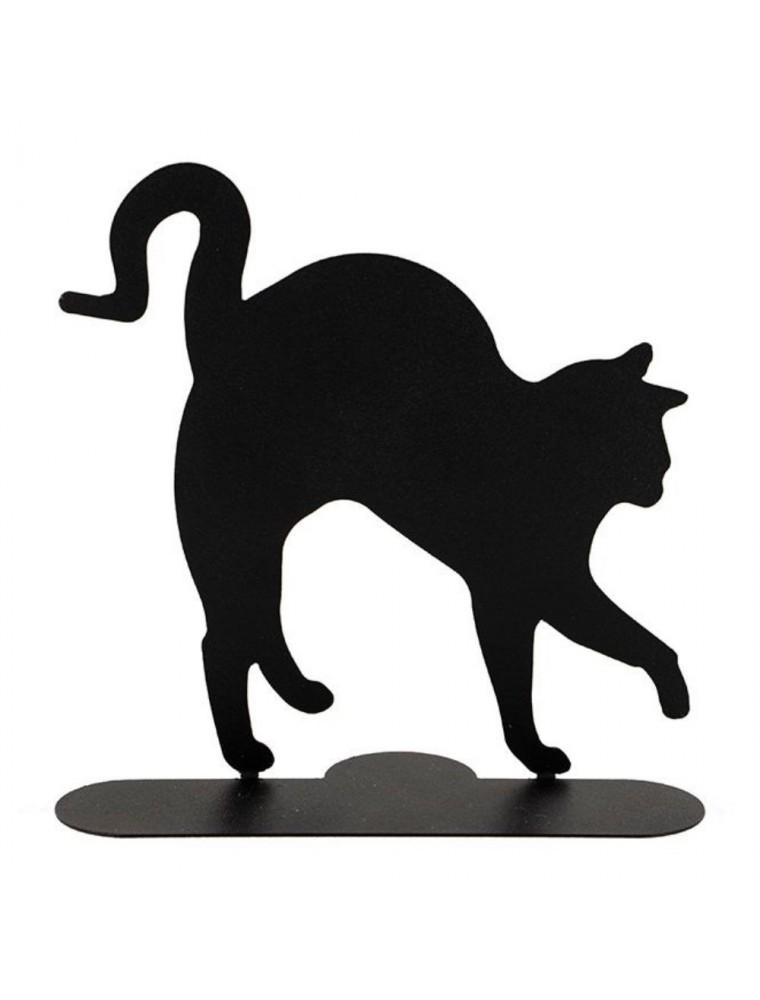 Chat noir - Porte-spirales pour encens - Les Encens du Monde