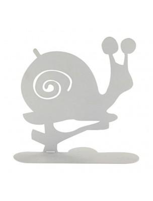 Escargot blanc - Porte-spirales pour encens - Les Encens du Monde