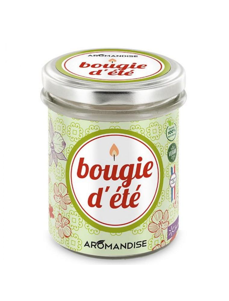 Bougie d'été - Citronnelle Géranium 150 g - Aromandise