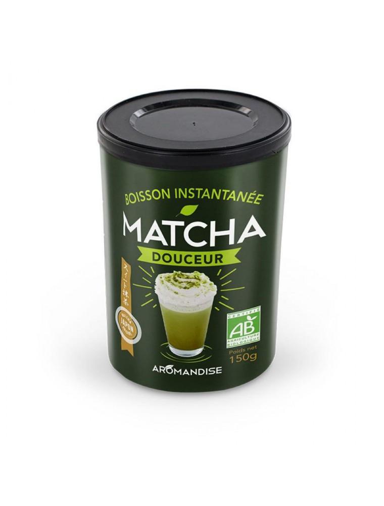 Douceur Matcha Bio - Boisson instantanée 150 g - Aromandise