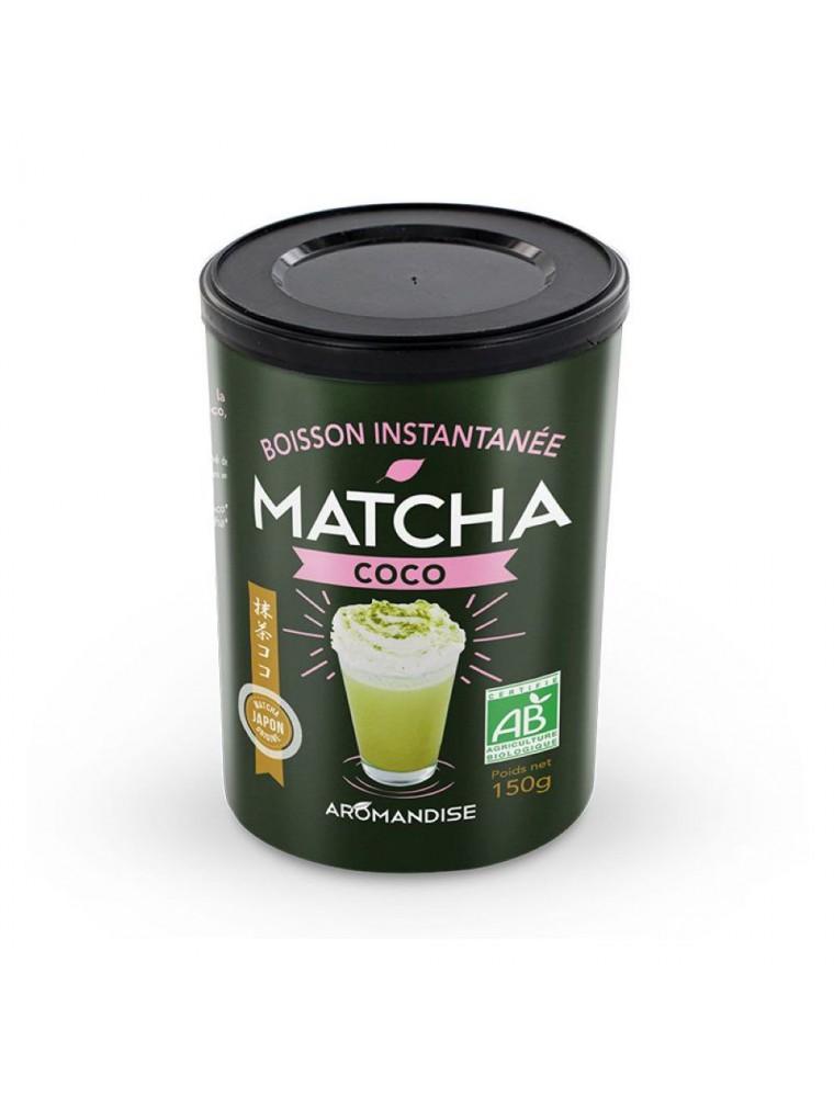 Matcha Coco Bio - Boisson instantanée 150 g - Aromandise