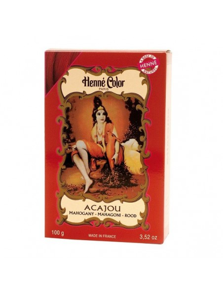 Coloration Acajou - Henné en poudre 100g - Henné color