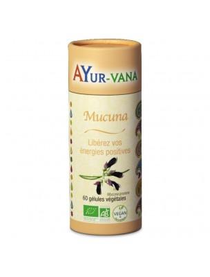 Mucuna Bio - Stress et Anxiété 60 gélules - Ayur-Vana