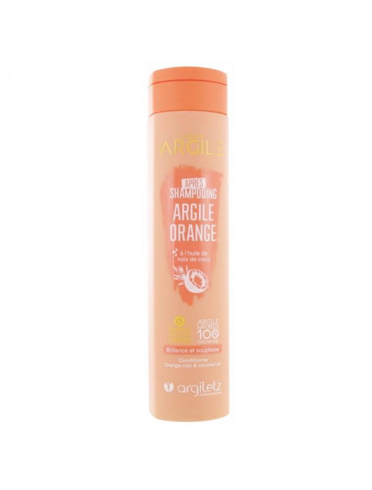Après-Shampooing à l'argile orange - Souplesse et Brillance 200ml - Argiletz