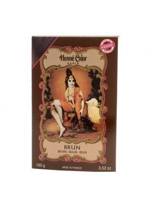 Coloration Brune - Henné en poudre 100g - Henné color