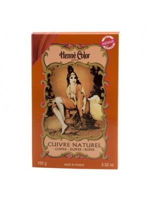 Coloration Cuivre - Henné en poudre 100g - Henné color