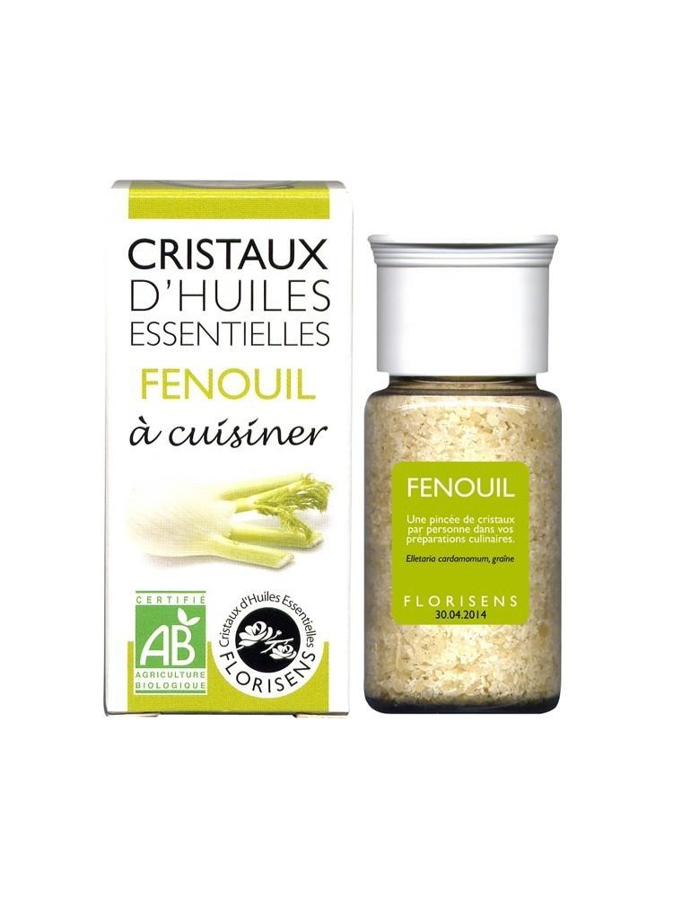 Fenouil - Cristaux d'huiles essentielles - 10g