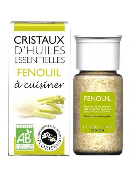Fenouil - Cristaux d'huiles essentielles - 18g