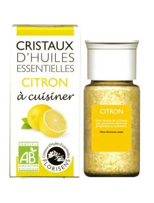 Citron - Cristaux d'huiles essentielles - 10g