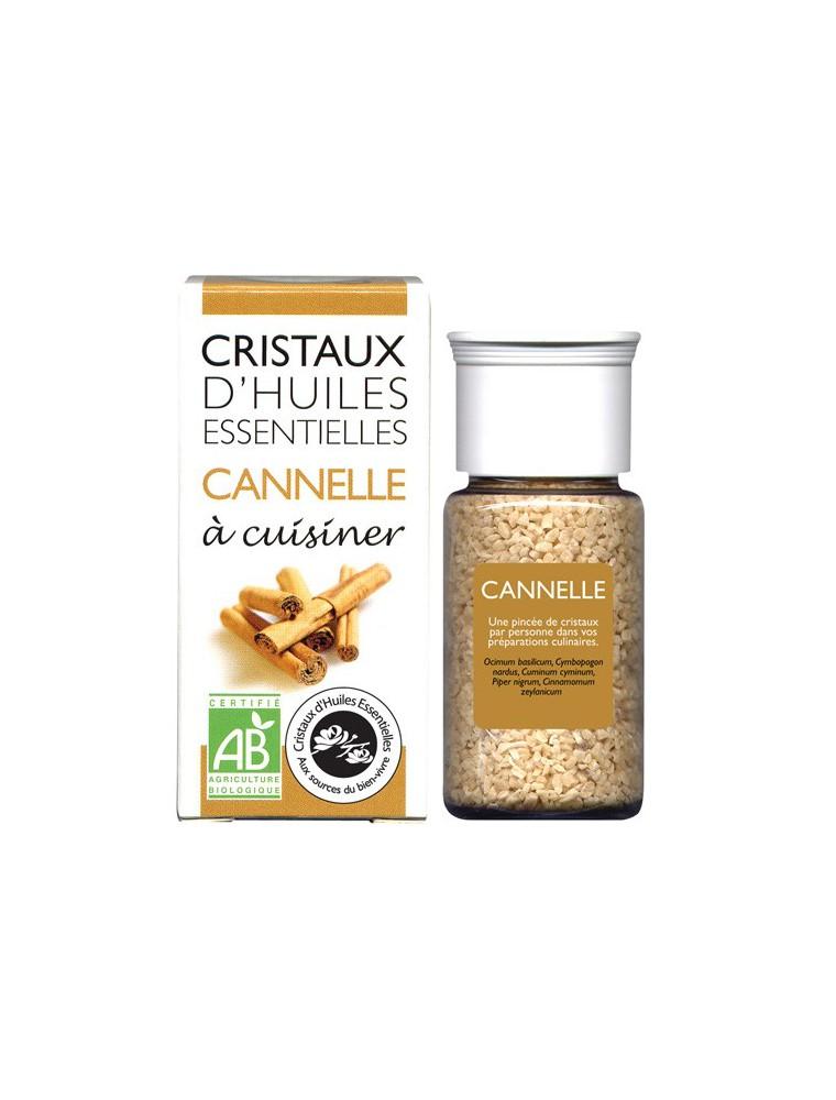 Cannelle - Cristaux d'huiles essentielles - 10g