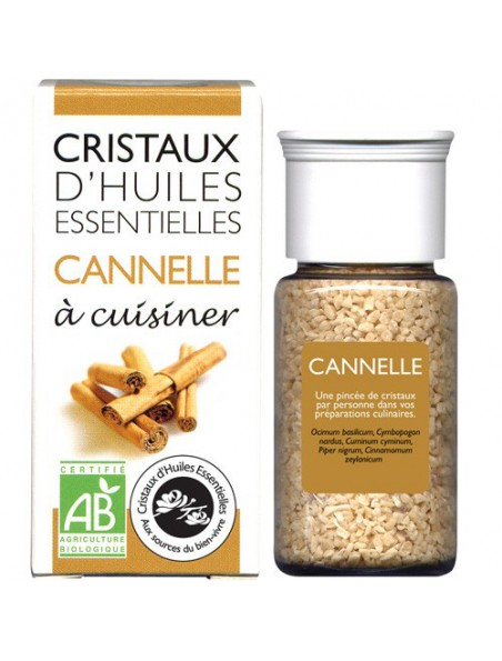 Cannelle - Cristaux d'huiles essentielles - 18g