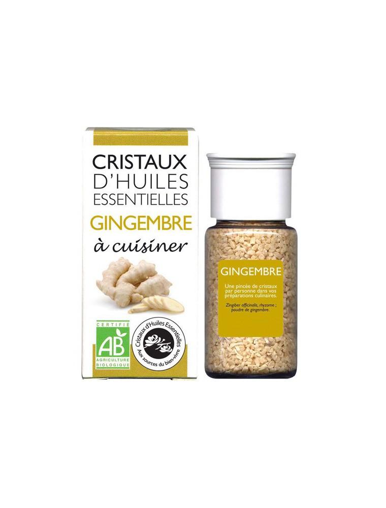 Gingembre - Cristaux d'huiles essentielles - 18g