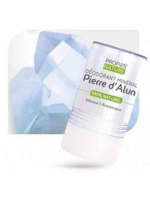 Déodorant Minéral Pierre d'Alun - Déodorant efficace et économique 120 g - Propos Nature