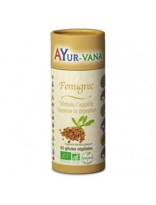 Fenugrec Bio - Digestion et Appétit 60 gélules - Ayur-Vana
