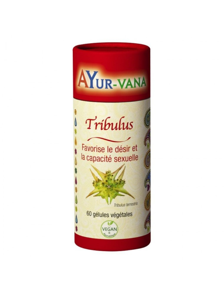 Tribulus - Sexualité 60 gélules - Ayur-Vana