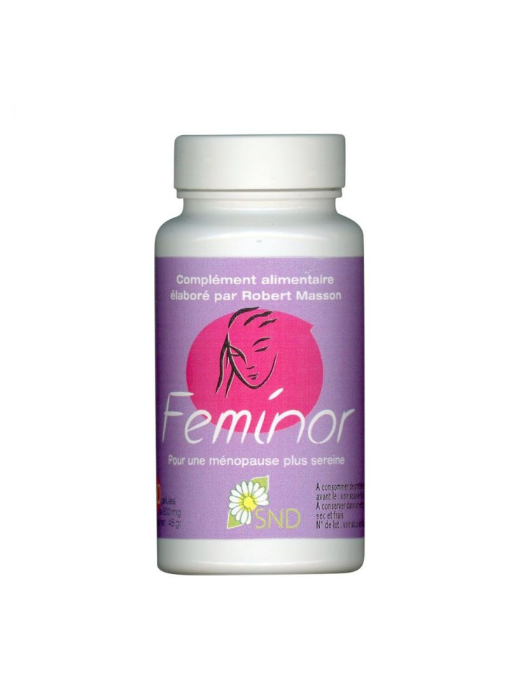 Feminor - Ménopause 90 gélules - SND Nature
