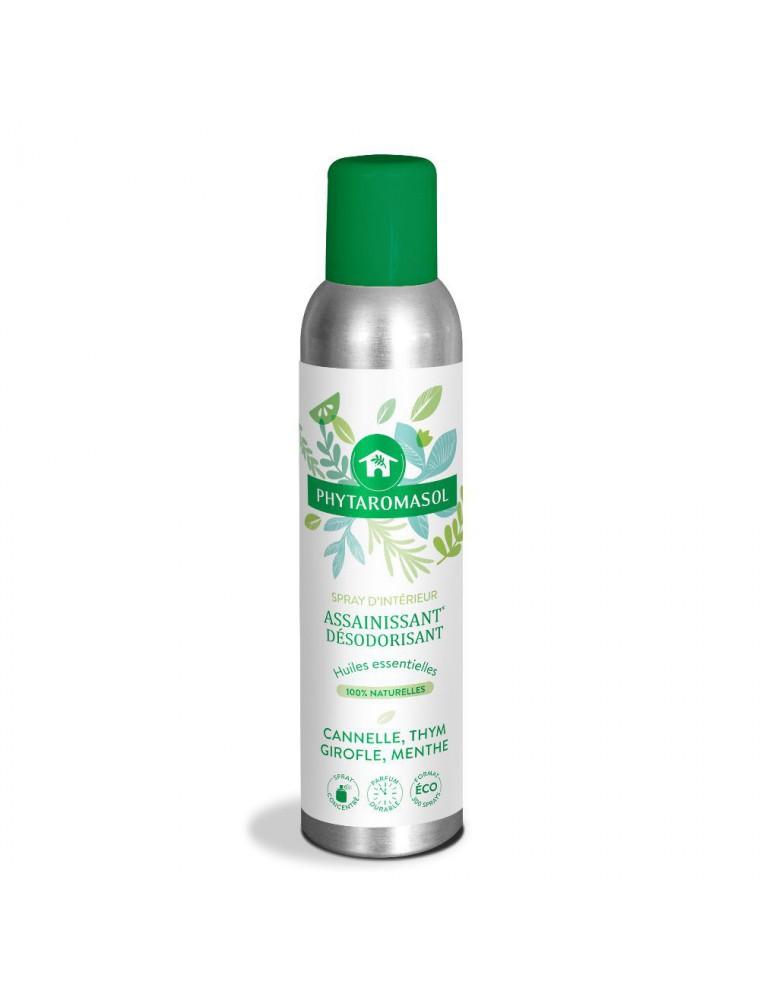 Phytaromasol Cannelle, Thym, Girofle et Menthe - Spray assainissant 250 ml - Dietaroma