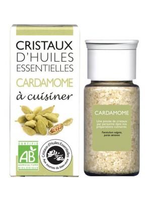 Cardamome - Cristaux d'huiles essentielles - 10g