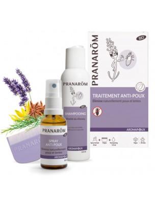 Aromapoux Bio - Traitement anti-poux 2 en 1 - Pranarôm