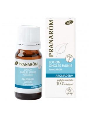 Fongiarom Bio - Aromaderm Lotion Ongles jaunis 10 ml - Pranarôm