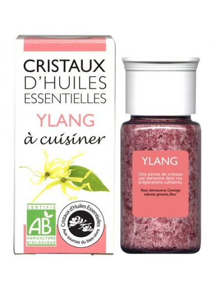 Ylang - Cristaux d'huiles essentielles - 10g