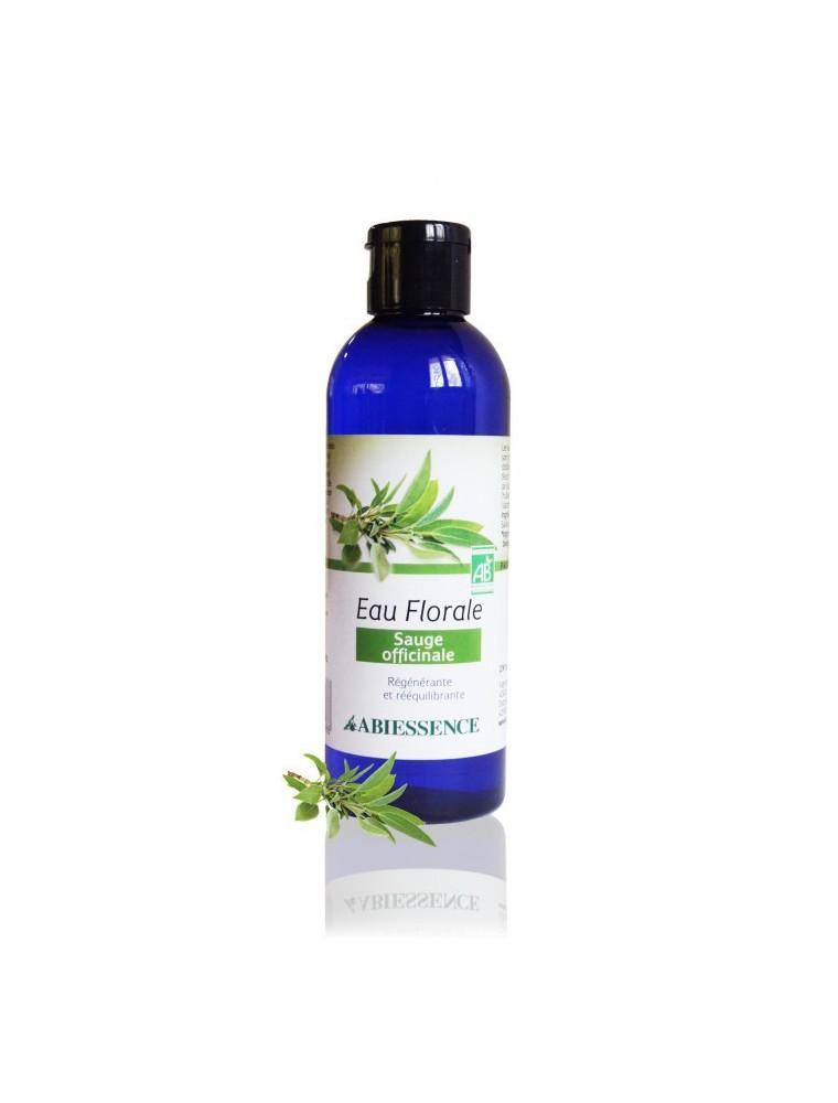Sauge Bio - Hydrolat (eau florale) 200 ml - Abiessence