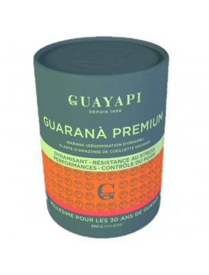 Warana Premium, Guarana d'origine Bio - Tonus et vitalité poudre 250 g - Guayapi