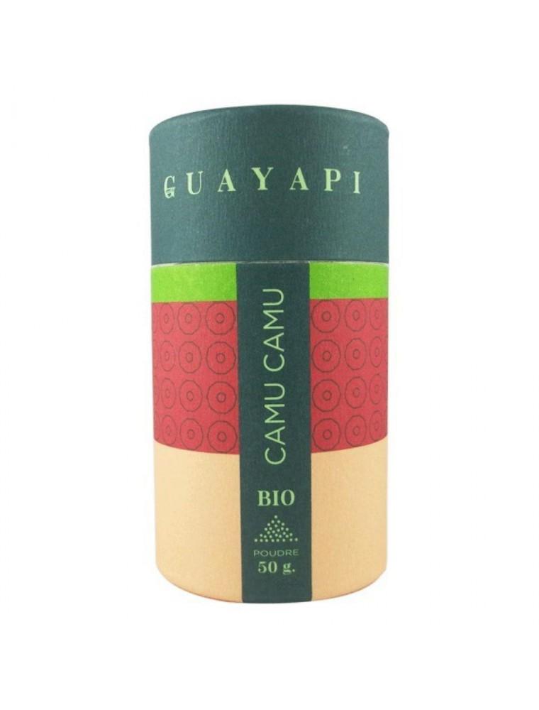Camu Camu Bio - Vitamine C et Antioxydant poudre 50 g - Guayapi