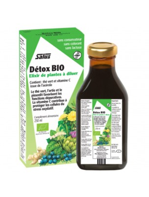 Détox Bio - Elimination 250 ml - Salus