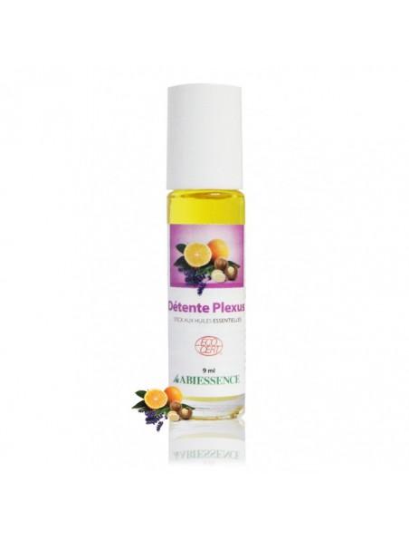 Détente Plexus Bio - Stick aux huiles essentielles 9 ml - Abiessence