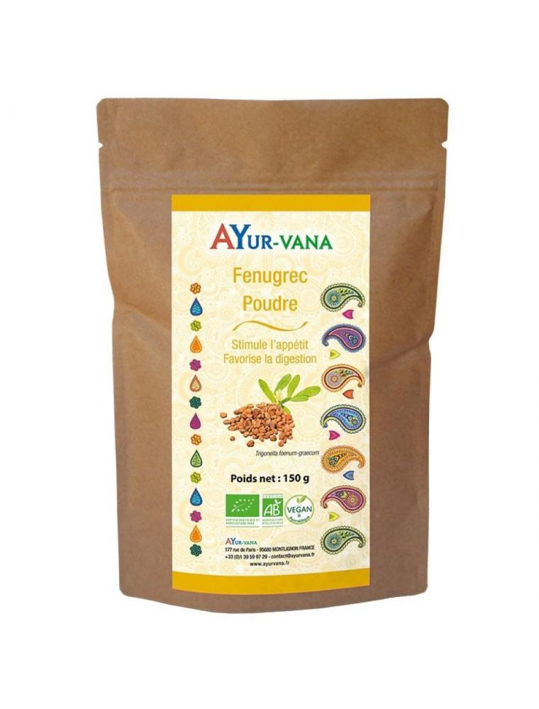 Fenugrec poudre Bio - Digestion et Appétit 150 grammes - Ayur-Vana