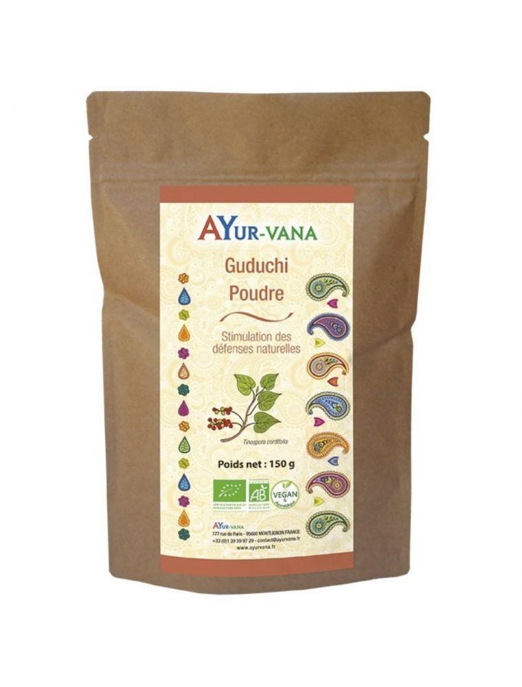 Guduchi poudre Bio - Défenses naturelles 150 grammes - Ayur-Vana
