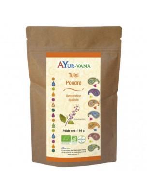 Tulsi poudre Bio - Respiration 150 grammes - Ayur-Vana