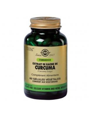 Curcuma - Articulations, digestion et anti-oxydant 60 gélules - Solgar